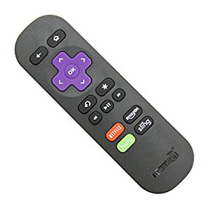 Amaz247 ARC101 Standard IR Replacement Remote : Good replacement for the  Roku 3 remote