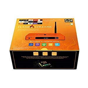 Flame Streams Android TV Mini PC Media Player With User