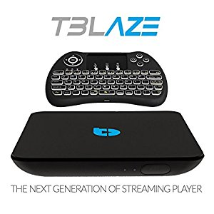 Tblaze Streaming Media Player Android TV Box With TV, Makes