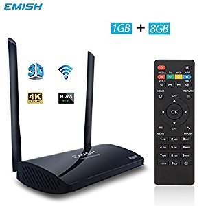 EMISH X800 Android TV Box 6 - Awesome! Easy to install and use