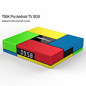 nansii NEW- Pure Version T95K Pro Android TV Box Amlogic S912 Android 6 :  ALL T95 2GB/16GB OCTA-CORE BOXES ARE GREAT  (T95V, T95K PRO & T95Z PLUS)  TOP