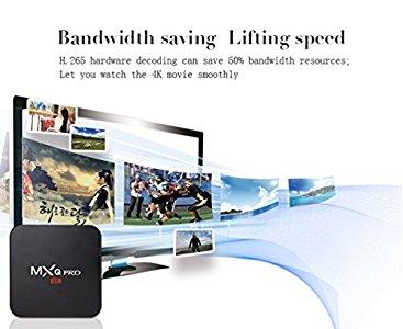 Henscoqi MXQ PRO Smart TV Box 2GB 16GB 4K HD 3D Wifi H : Very happy with  the product